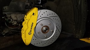 Brembo Big Brake Upgrades