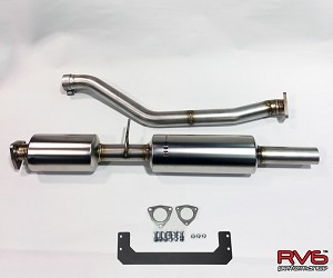 RV6™ Double Resonated Midpipe for Accord Coupe V6 (13-17)